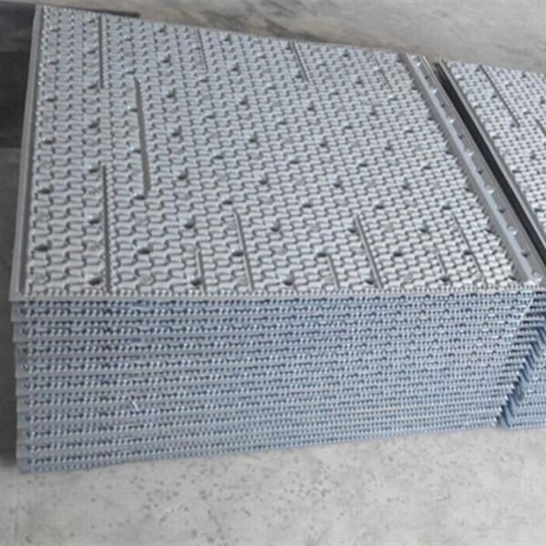 950mm950mm Cooling tower fill Provider, Popular PVC plastic filling sheets, Cross-flow PVC fills