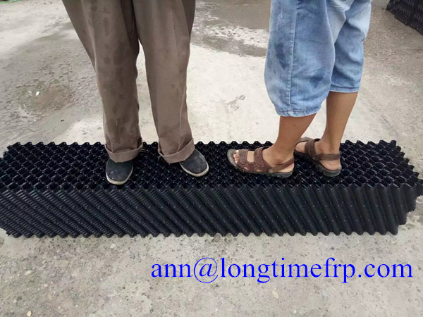 Cross-Fluted cooling tower Film Fill Media