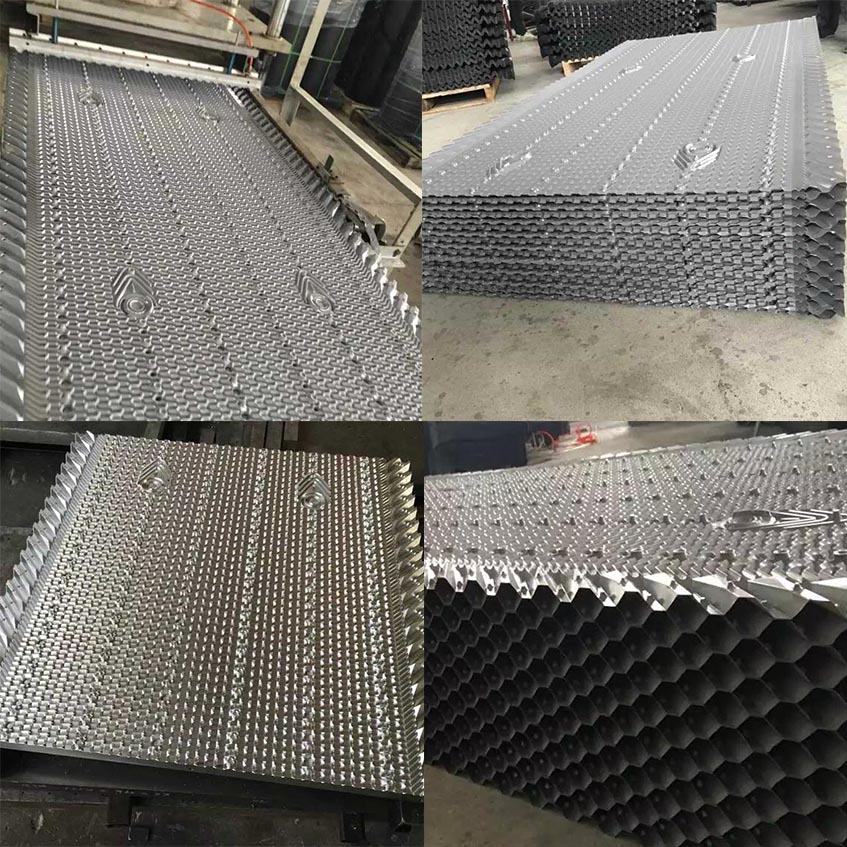 PVC fill for shinwa Cooling tower