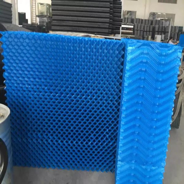 S Wave Corrugated Cooling Tower Fills Block