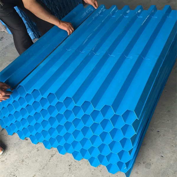 Waste Water Tank Filter Media, PP Tube Settler 1m1m, Lamella Plate Clarifier