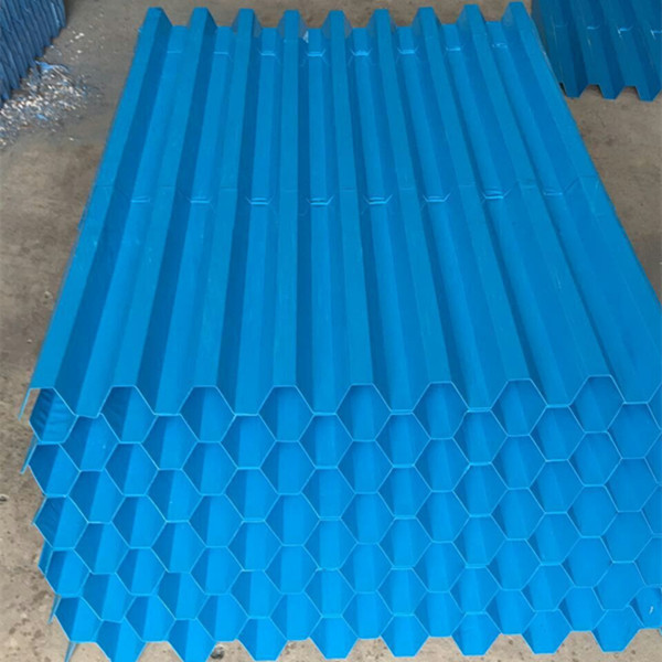 blue tube settlers, lamella plate for water treatment