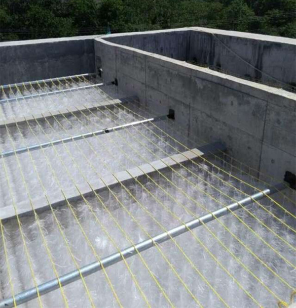 fill for oxidation ponds oxidation tank