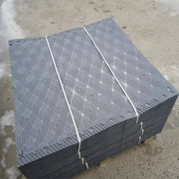 spindle cross flow PVC square cooling tower media fill