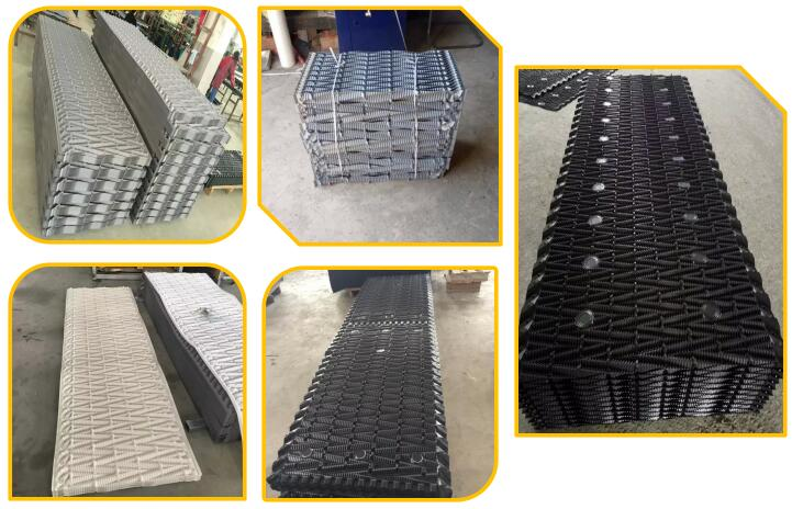 cross-flow fill packing for kuken cooling tower