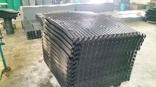 Mesan cooling tower film fill