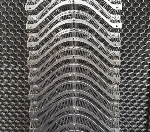 evaporative honeycomb cooling pad