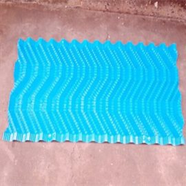 PVC blue color S Wave Cooling tower filler