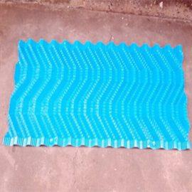 PVC blue color S Wave Cooling tower filler